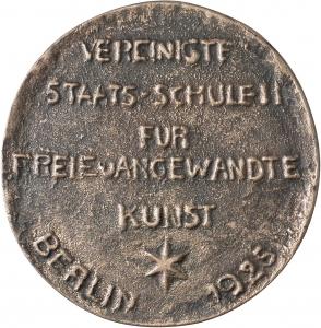 Kreßner, Magdalena: Preismedaille 1925