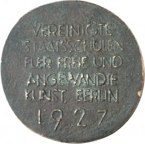 Spribille, Kurt: Preismedaille 1927