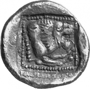 Reverse Amathous, Uncertain king or Wroikos, SilCoinCy A1127