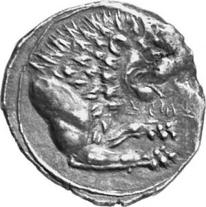 Reverse Amathous, Pyrwos, SilCoinCy A1129
