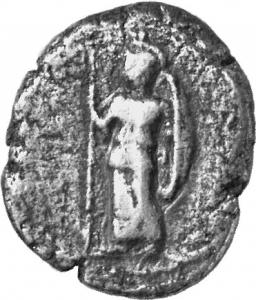 Εμπροσθότυπος Λάπηθος, Δημόνικος Α΄, SilCoinCy A1204