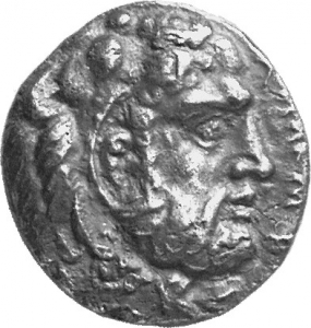 Εμπροσθότυπος Σαλαμίνα, Ευαγόρας Α΄, SilCoinCy A1305
