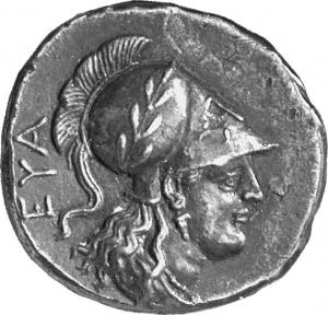 Εμπροσθότυπος Σαλαμίνα, Ευαγόρας Β΄, SilCoinCy A1320
