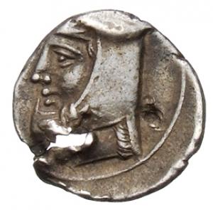 Οπισθότυπος Νομισματοκοπείο Κιλικίας ;, Ευαγόρας Β΄ (όχι ως βασιλέας Σαλαμίνας), SilCoinCy A1328