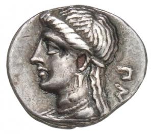 Οπισθότυπος Σαλαμίνα, Πνυταγόρας, SilCoinCy A1356