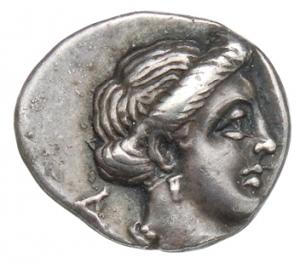 Εμπροσθότυπος Σαλαμίνα, Πνυταγόρας, SilCoinCy A1356