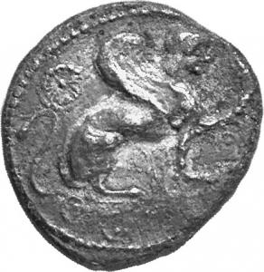 Εμπροσθότυπος Ιδάλιο, Αβέβαιος βασιλέας Ιδαλίου, SilCoinCy A1218