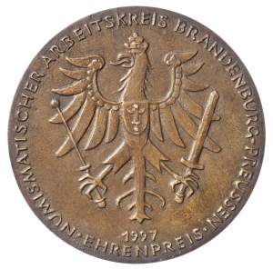 Wagner-Kerkhof, Heidi: Ehrenpreis Numismatischer Arbeitskreis Brandenburg-Preußen