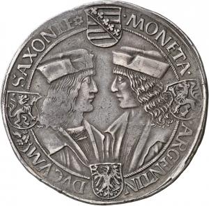 Sachsen: Friedrich III., Albrecht und Johann der Beständige