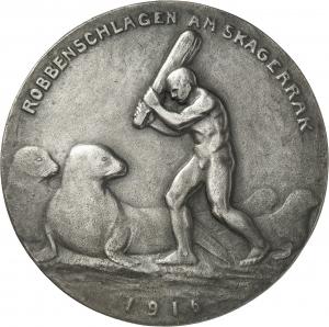 Leibküchler, Paul: Robbenschlagen am Skagerrak - Admirale Jellicoe und Beatty