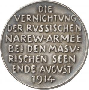 Hörnlein, Friedrich Wilhelm: Vernichtung der Narew-Armee