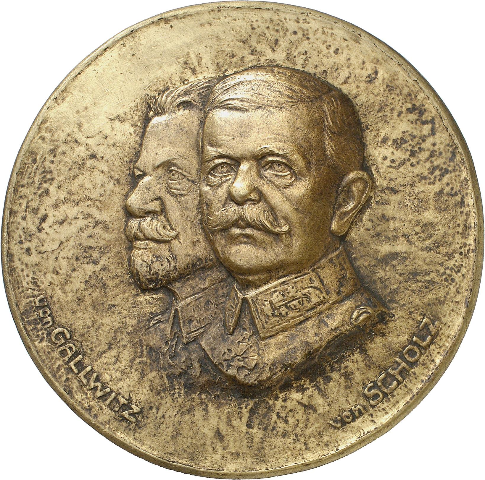 Leibküchler, Paul: General Max von Gallwitz und Friedrich von Scholtz
