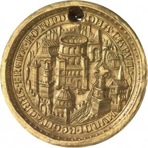 Goldbulle Ludwig IV. der Bayer