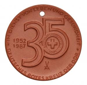 Wünsche, Manfred: 35 Jahre Deutsches Rotes Kreuz der DDR
