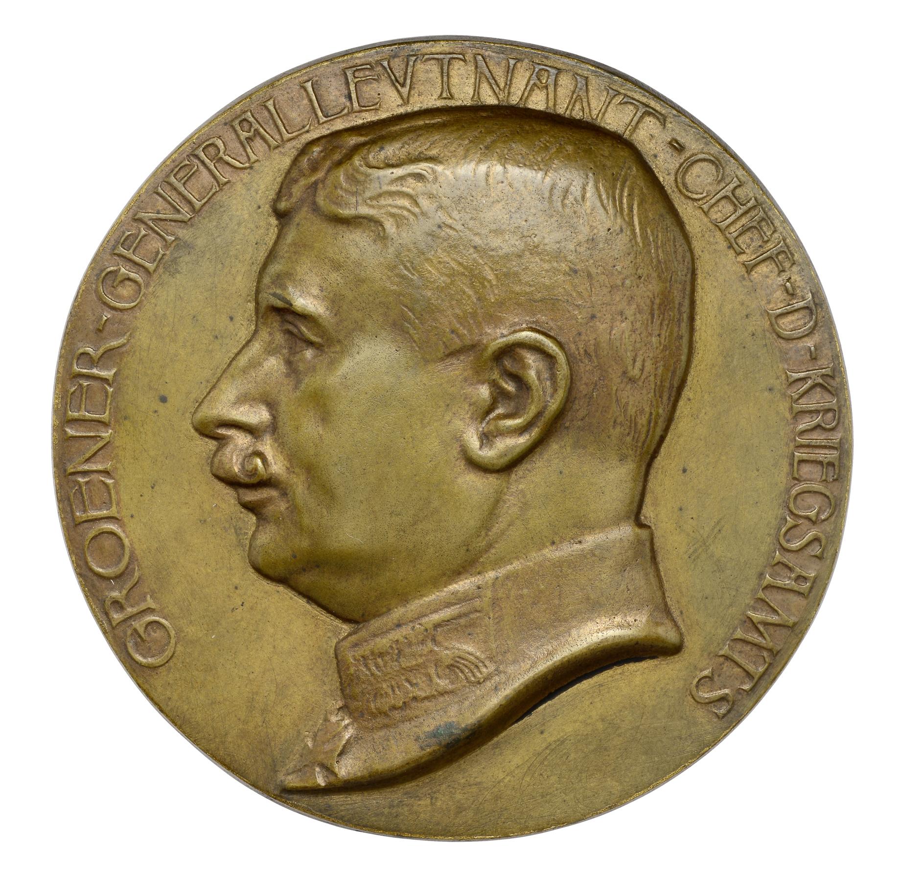 Schulz, Paul: Generalleutnant Wilhelm Groener