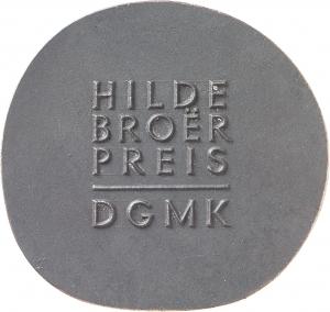 Broer, Hilde: Hilde-Broer-Preis der DGMK
