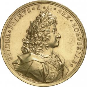Faltz, Raimund: Krönung Friedrich I.