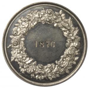 Mertens, August: Preismedaille 1876