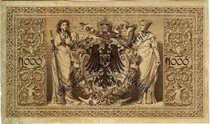 Deutsches Reich: 1.000 Mark 1891